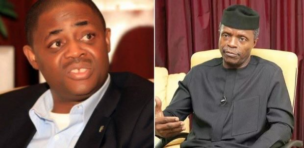 Fani-Kayode-Osinbajo should stop lying, Buhari will never return as President