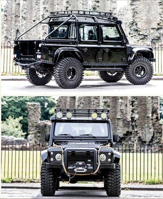 Jeep that Could Easily Drive Around Floods and Mountains1