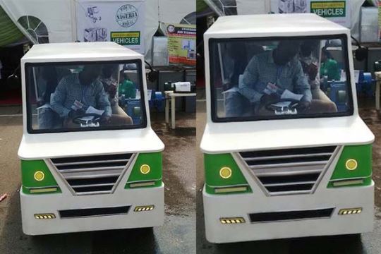 Made-in-Nigeria Hybrid Electric Car Unveiled in Abuja-See Photos