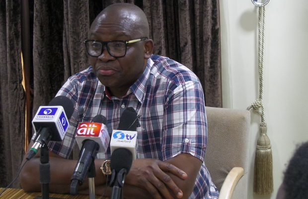 Why I have been blocked from visiting Buhari in London – Fayose